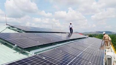 Sẽ xử nghiêm các dự án điện mặt trời vi phạm